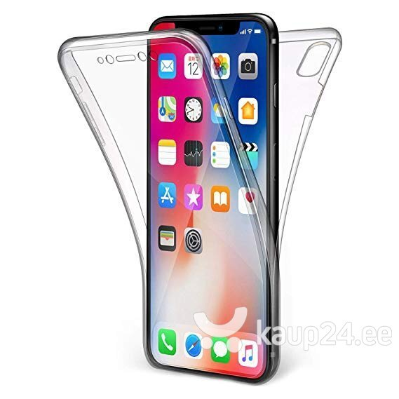 Mocco Double Side Case 360 Case for Apple iPhone XS Max Transparent hind