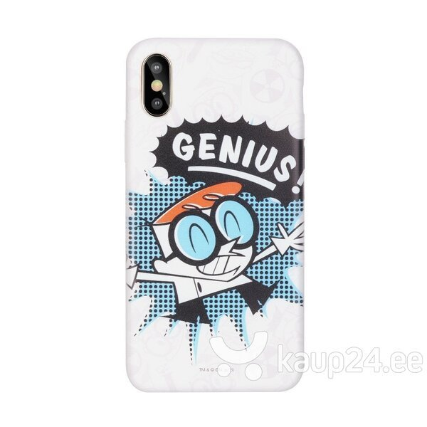 Cartoon Network Dexter Silicone Case for Samsung J415 Galaxy J4 Plus (2018) Dexter hind ja info | Telefoni kaaned, ümbrised | kaup24.ee