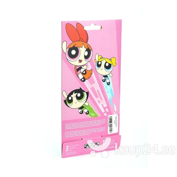 Cartoon Network The Powerpuff Girls Silicone Case for Apple iPhone XS Max Bubbles Power hind