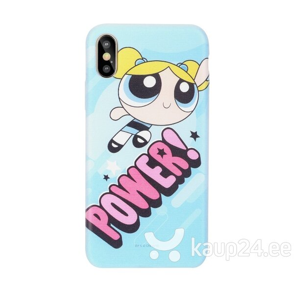 Cartoon Network The Powerpuff Girls Silicone Case for Apple iPhone XS Max Bubbles Power hind ja info | Telefoni kaaned, ümbrised | kaup24.ee