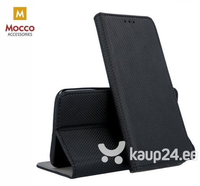 Telefoniümbris Mocco Smart Magnet telefonile Apple iPhone 11, must hind ja info | Telefoni kaaned, ümbrised | kaup24.ee