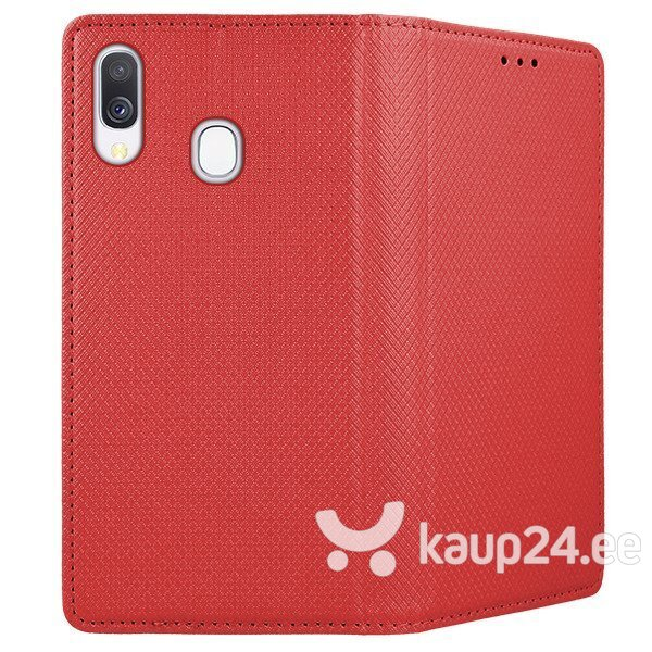 Mocco Smart Magnet Book Case For Samsung A305 Galaxy A30 Red soodsam