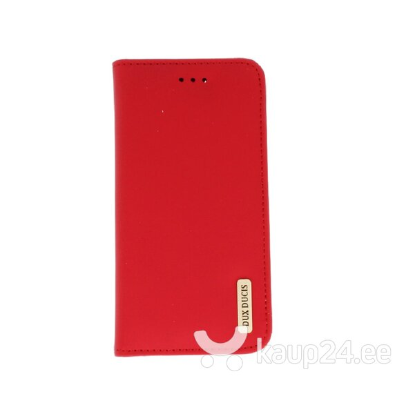 Dux Ducis Wish Magnet Case From The Real Leather For Samsung N960 Galaxy Note 9 Red hind ja info | Telefoni kaaned, ümbrised | kaup24.ee