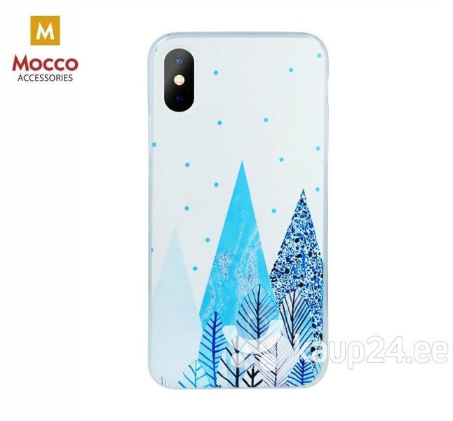Mocco Trendy Winter Silicone Back Case for Huawei Y6 / Y6 Prime (2018) Forest Winter Motif hind ja info | Telefoni kaaned, ümbrised | kaup24.ee