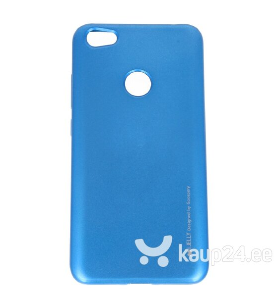 Mercury i-Jelly Back Case Strong Silicone Case With Metallic Glitter for Apple iPhone XS MAX Blue hind ja info | Telefoni kaaned, ümbrised | kaup24.ee