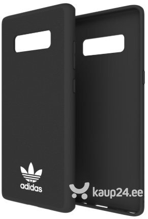 Telefoniümbris Adidas OR Moulded Silicone Case for Samsung N950 Galaxy Note 8 Black (EU Blister) hind