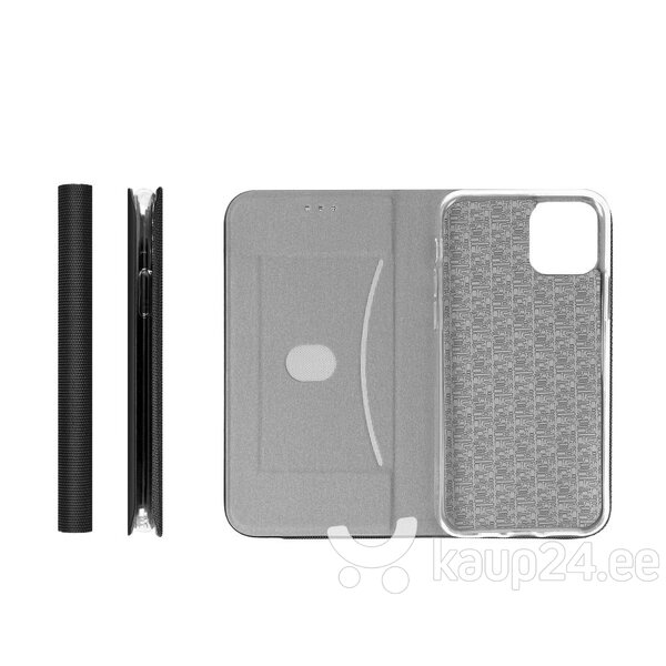 Telefoniümbris Sensitive book Huawei P40 Lite E, must tagasiside