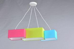 Laelamp TETRIS, sinine/roosa/roheline