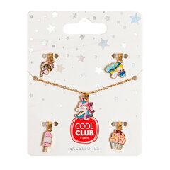 Cool Club kaelakee tüdrukutele Vikerkaar, 6730287 hind ja info | Laste aksessuaarid | kaup24.ee
