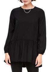 Naiste pluus s.Oliver, must hind ja info | Naiste pluusid, särgid | kaup24.ee