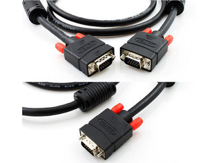 Kaabel VGA-VGA, 10m (Y-C506) hind ja info | Juhtmed, adapterid | kaup24.ee