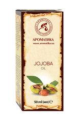 Naturaalne taimne jojobaõli Aromatika, 50 ml hind ja info | Eeterlikud ja kosmeetilised õlid | kaup24.ee