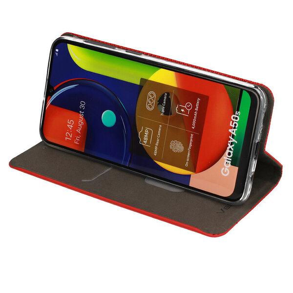 Telefoniümbris Sensitive book Huawei P40 Lite, punane