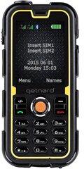 Mobiiltelefon Getnord Walrus 2, Must/Kollane hind ja info | Mobiiltelefonid | kaup24.ee