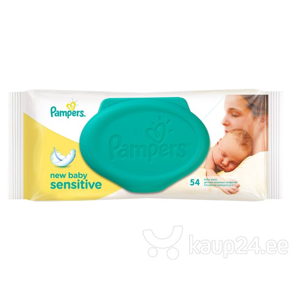 Salvrätikud Pampers New baby Sensitive 54 tk.