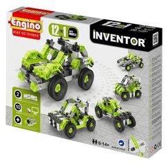 Konstruktor Engino Inventor Autod, 12 mudelit
