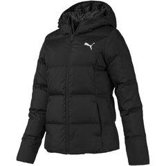 Naiste vabaaja jope Puma Essentials 400 Down Hooded Jacket 58005201, must hind ja info | Naiste joped | kaup24.ee