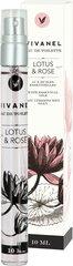 Tualettvesi Vivanel Lotus & Rose EDT, 10 ml hind ja info | Naiste parfüümid | kaup24.ee