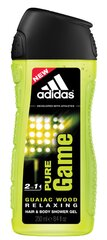 Гель для душа Adidas Pure Game 250 ml