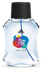 Tualettvesi Adidas Team Five EDT meestele 50ml