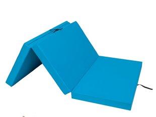 Kokkupandav madrats Hobbygarden Alex XXXL, 120x200 cm, sinine hind ja info | Madratsid | kaup24.ee