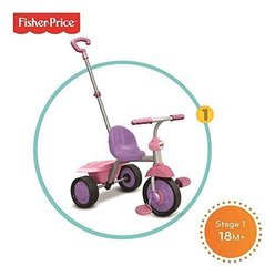 Kolmerattaline Fisher price Glee 2 IN 1, 3350233 цена и информация | Kolmerattalised jalgrattad | kaup24.ee