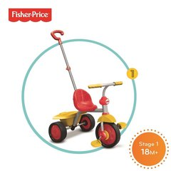 Kolmerattaline Fisher price Glee 2 IN 1, 3350533 цена и информация | Kolmerattalised jalgrattad | kaup24.ee