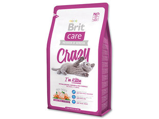 Kuivtoit kassidele Brit Care Kitten Crazy 7 kg