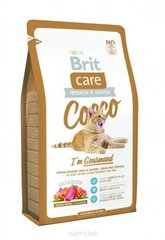 Kuivtoit kassidele Brit Care Cat Cocco I'm Gourmand 7 kg hind ja info | Kuivtoit kassidele | kaup24.ee