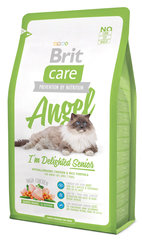 Kuivtoit kassidele Brit Care Cat Angel I'm Delighted Senior 0,4 kg