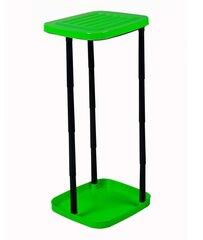 Alus prügikotile Plast Team, 70 x 30 x 35 cm, roheline/must hind ja info | Kompostikastid | kaup24.ee