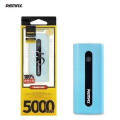 Akupank Remax E5 5000mAh Power Bank, sinine