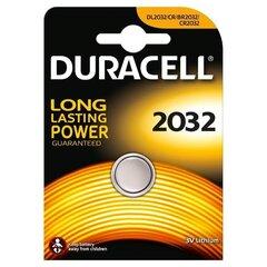 Patareid Duracell 2032, 1 tk hind ja info | Patareid Duracell 2032, 1 tk | kaup24.ee