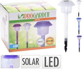 ProGarden садовый светильник на солнечной батарее, 12 см цена и информация | Уличное освещение | kaup24.ee
