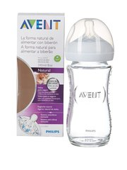 Lutipudel Philips Avent Natural, 1+ kuud, 240 ml, SCF673/17