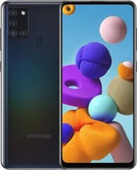 Samsung Galaxy A21s, 64 GB, Dual SIM, Black hind ja info | Mobiiltelefonid | kaup24.ee
