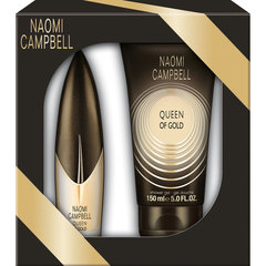 Komplekt Naomi Campbell Queen of Gold: EDT naistele 15 ml + dušigeel 50 ml