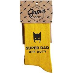 "Sokid ""Super dad off duty"" цена и информация | Sokid ""Super dad off duty"" | kaup24.ee"
