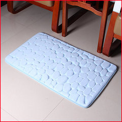 Vannitoavaip Memory foam Benedomo 50x80, Light blue