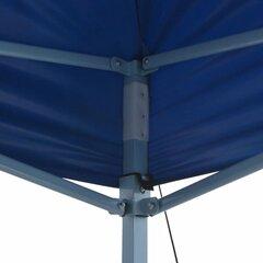 vidaXL kokkupandav pop-up telk, 3 x 4,5 m, sinine цена и информация | Беседки, навесы, тенты | kaup24.ee