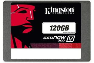 Kõvaketas Kingston SSDNOW V300 120GB SATAIII (SV300S37A/120G)