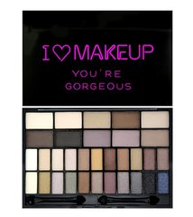 Lauvärvipalett Makeup Revolution London I Love Makeup You´re Gorgeous 20 g hind ja info | Silmadele | kaup24.ee