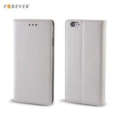 Kaitseümbris Forever Smart Magnetic Fix Book sobib LG G4C Mini (H525N)/ Magna (H502F/H500F), hõbedane