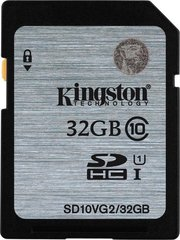 Mälukaart Kingston 32GB SDHC Class 10 UHS-I GenII