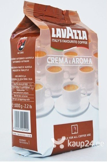 6308cfd6133 KOHV LAVAZZA AROMA CREME 1 KG HIND | kaup24.ee