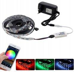 Niiskuskindel RGB LED riba 5 m WIFI-ga juhtimine hind ja info | LED ribad | kaup24.ee
