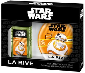 Komplekt La Rive Star Wars Droid: EDT poistele 50 ml + dušigeel-šampoon 250 ml