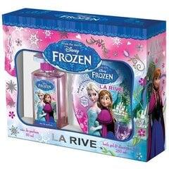 Komplekt La Rive Frozen: EDP 50 ml+dušigeel-šampoon tüdrukutele 250 ml цена и информация | Laste lõhnad | kaup24.ee
