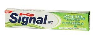 Hambapasta Signal White Natural System, 75 ml hind ja info | Suuhügieen | kaup24.ee