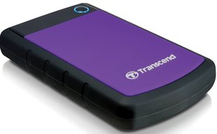 "Väline kõvaketas Transcend StoreJet 25H3 2TB 2,5"" USB 3.0, lilla"